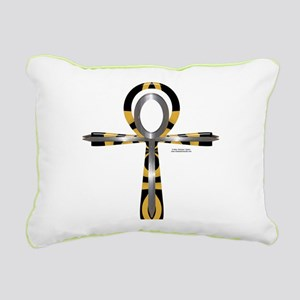 Ankh Sword Rectangular Canvas Pillow